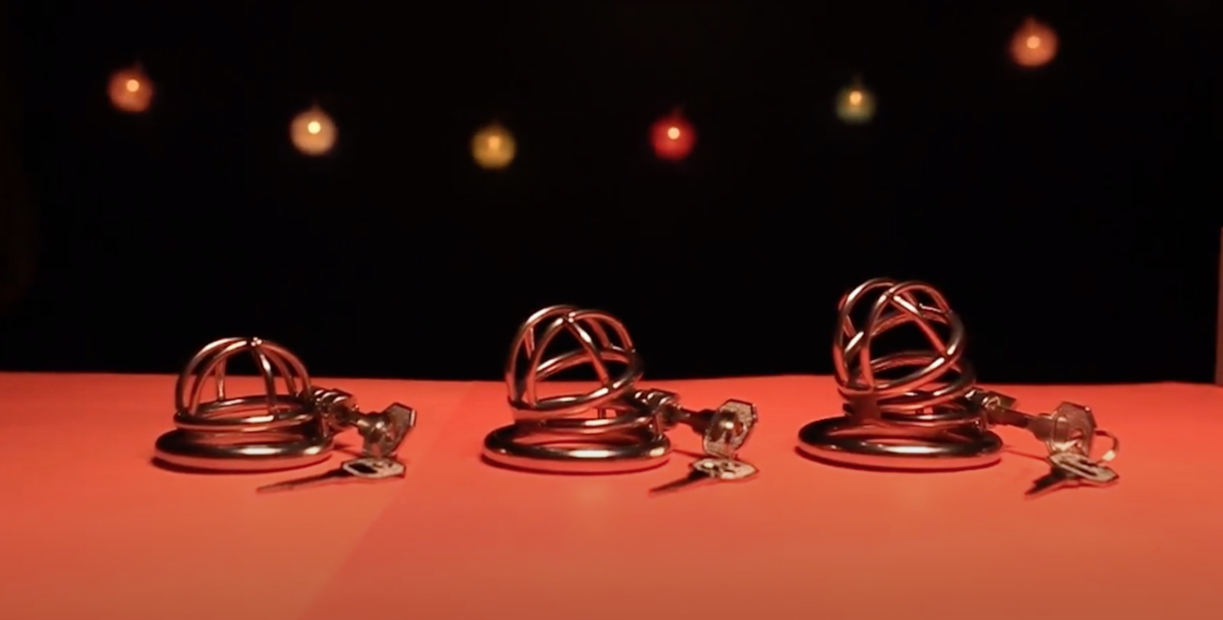 Sizing male chastity cages